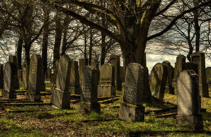 מאמר על איתור קברים בבתי עלמין