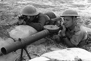 גנאלוגיה וחללי המלחמות - חיילים יהודיים באימון בצבא הבריטי