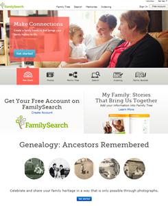 חיפוש קרובים בארצות הברית באמצעות Familysearch
