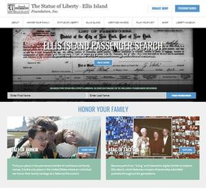 רישומי הגירה לארהב באתר Ellis Island