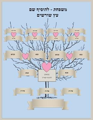 בניית והדפסת עצי משפחה באתר ToPrint