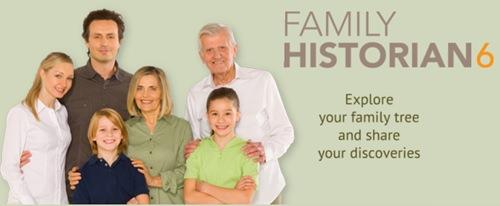 בניית עץ משפחה - תוכנת Family Historian 6
